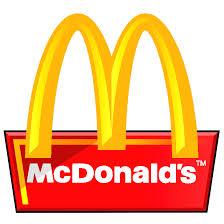 McDonald's Logo White